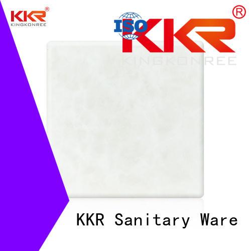 kkr Custom translucent backlit translucent acrylic wall panels stone KingKonree