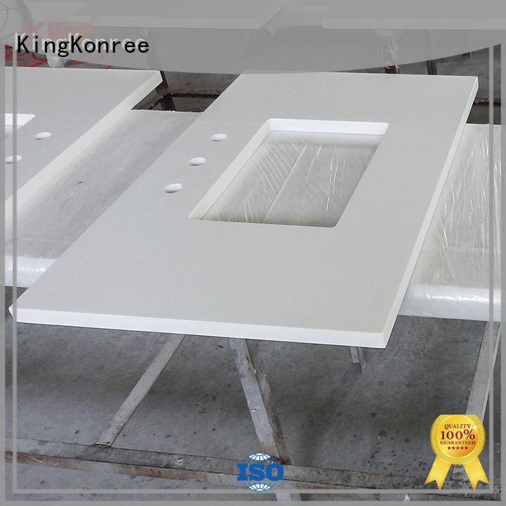 encimeras artificiales asequibles para el hotel KingKonree