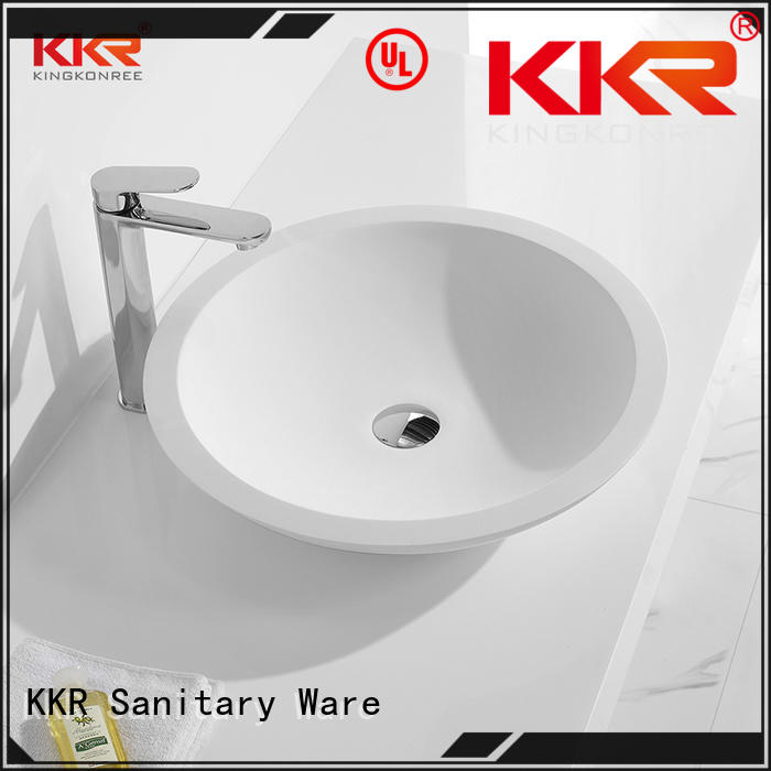 KingKonree top mount bathroom sink customized for room