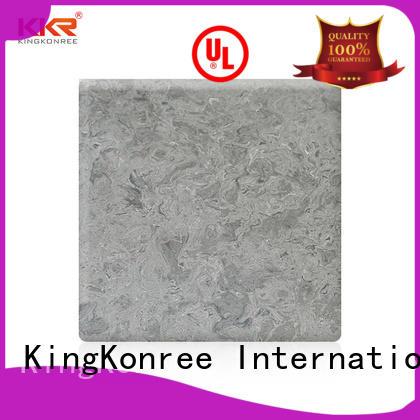 acrylic solid surface sheet white for room KingKonree