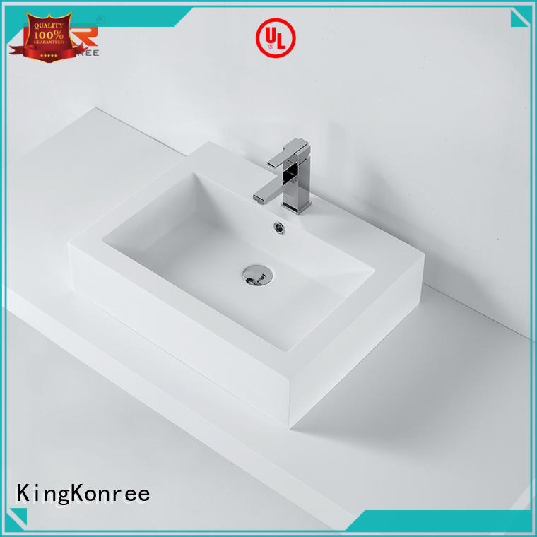 high-quality solid surface basin for wholesale for hotel