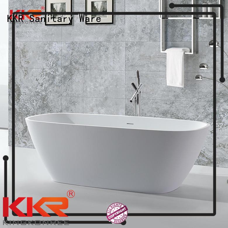 selling size Solid Surface Freestanding Bathtub artificla KingKonree company