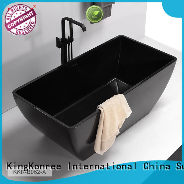 KingKonree rectangular freestanding tub custom