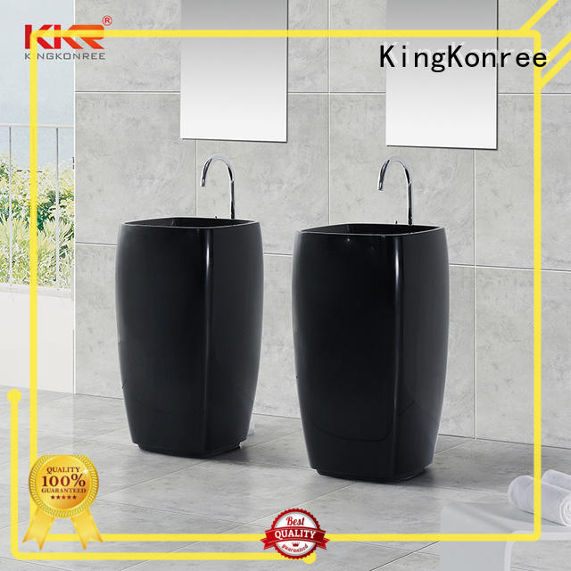 freestanding vanity basins marble for home KingKonree