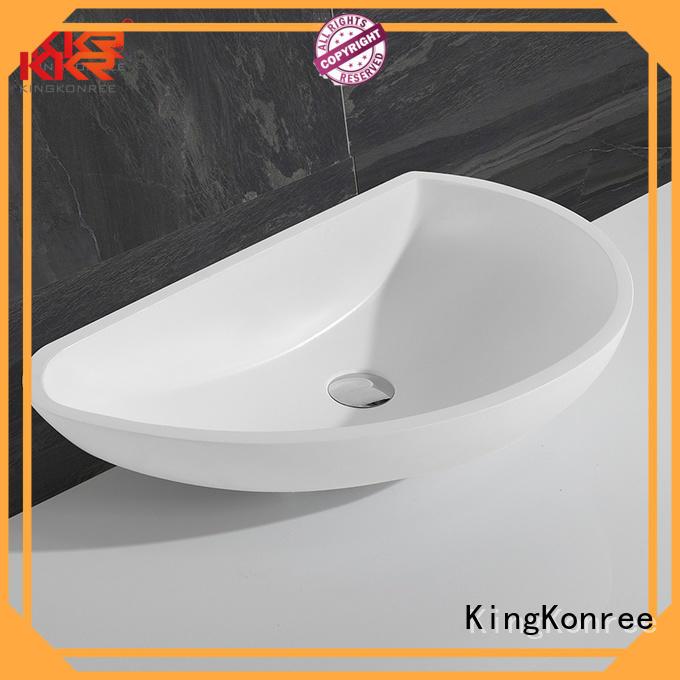 oval above counter basin kkr above bathroom KingKonree Brand above counter basins