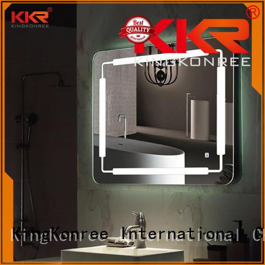 bathroom mirrors contemporary sanitary ware for hotel KingKonree