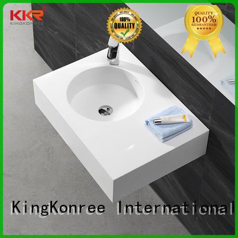 KingKonree white wall mounted cloakroom basin for toilet