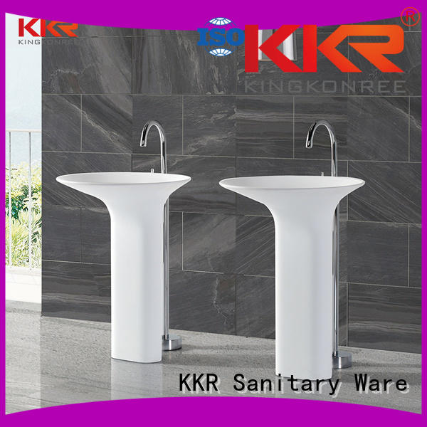 Hot bathroom free standing basins stand KingKonree Brand