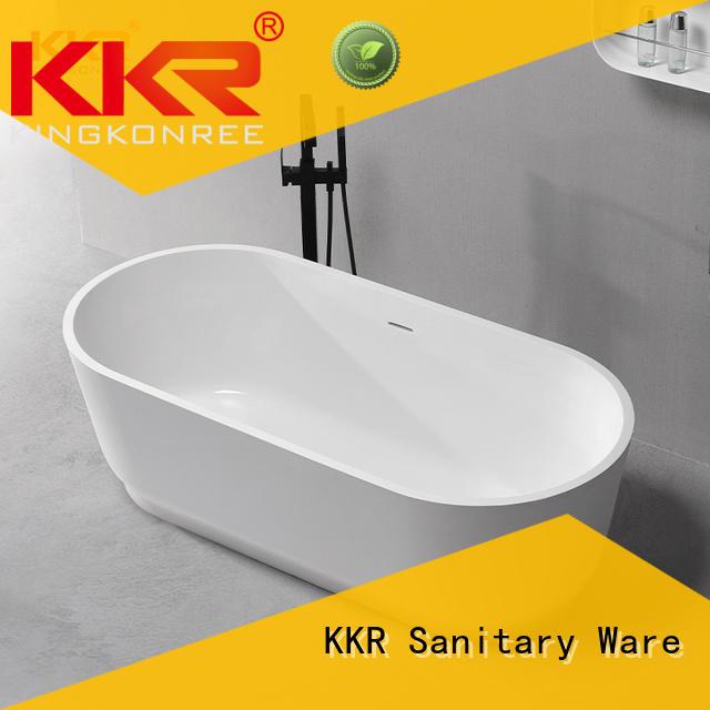 KingKonree gray sanitary ware manufactures design fot bathtub