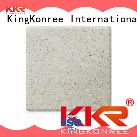 resin acrylic solid surface design for hotel