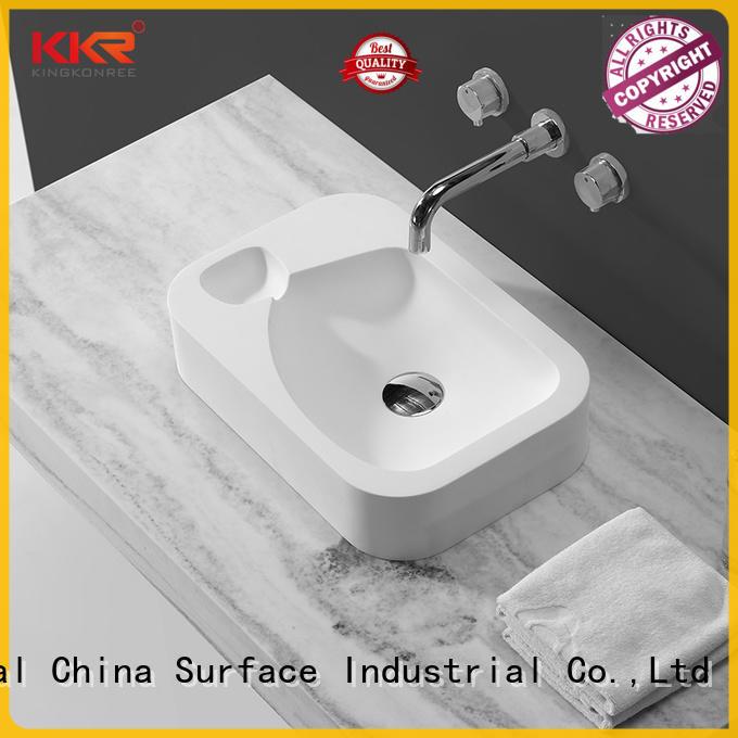 KingKonree top mount bathroom sink design for home