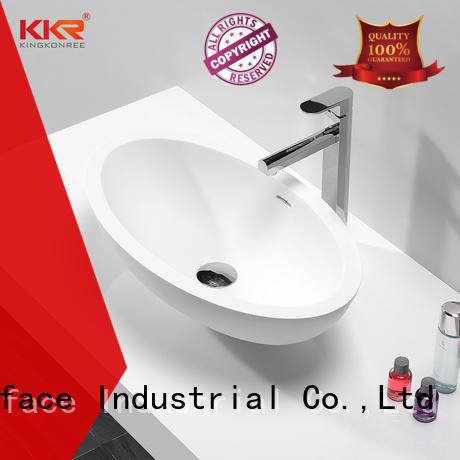 top mount bathroom sink manufacturer for room KingKonree