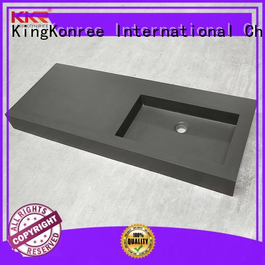 sanitary ware rectangular wash basin white for bathroom KingKonree