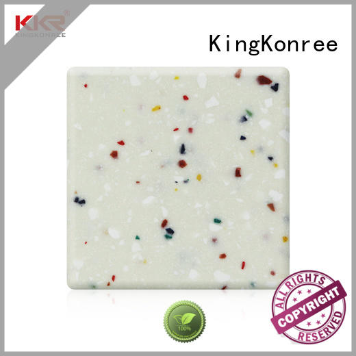 KingKonree types of solid surface countertops supplier for home