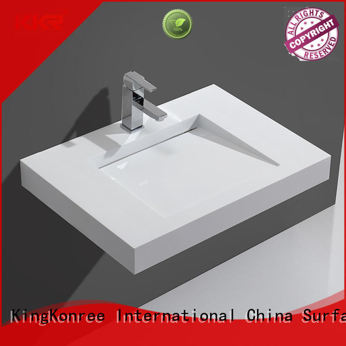 unique wall hung vanity basin sink for bathroom