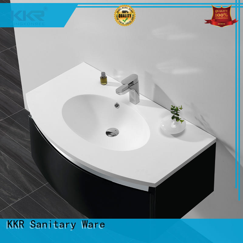 best material solid surface basin for wholesale for hotel