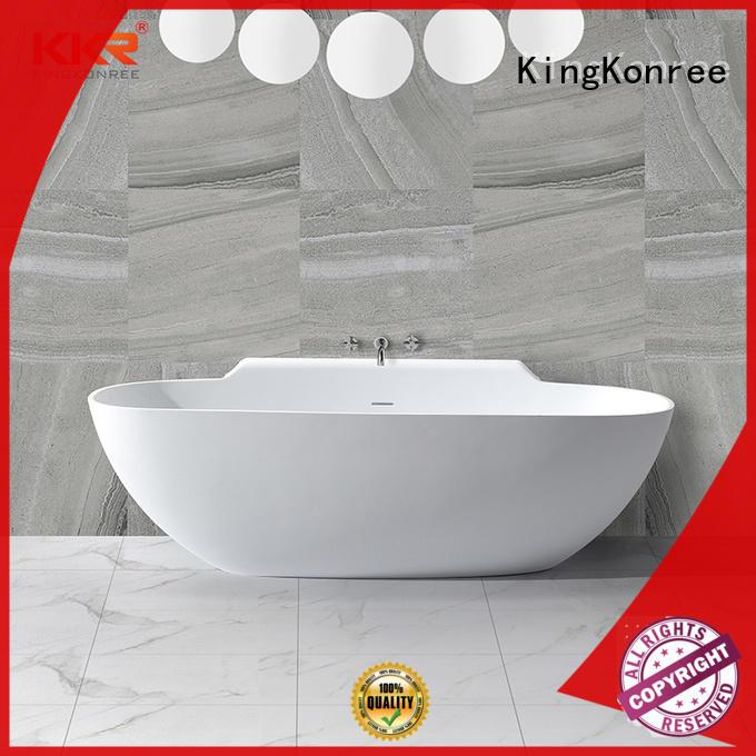 KingKonree on-sale affordable freestanding bathtubs white for shower room