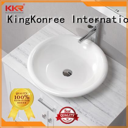 KingKonree elegant above counter vanity basin at discount for restaurant