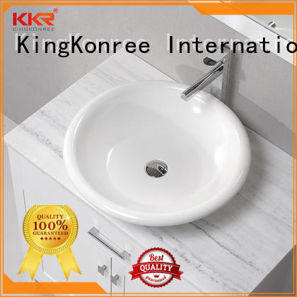 KingKonree elegant above counter vanity basin at discount for restaurant