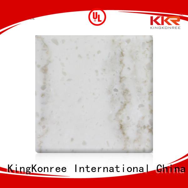 KingKonree Brand marble artificial solid kkr solid surface sheets