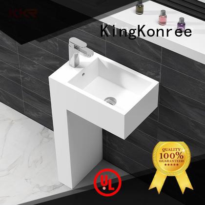 KingKonree floor standing basin customized for bathroom