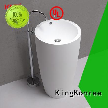 KingKonree acrylic freestanding bathroom basin Italian for home