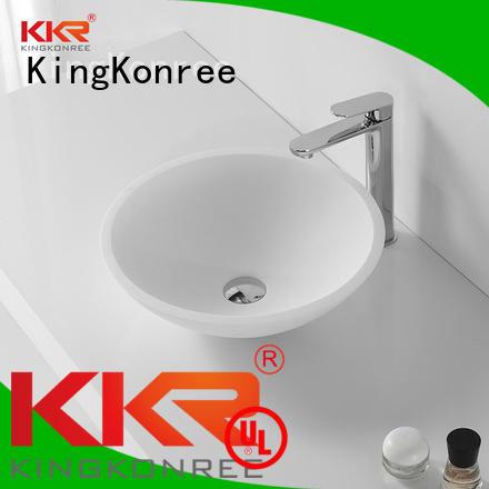shape counter KingKonree Brand oval above counter basin factory