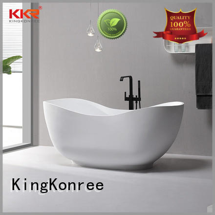 KingKonree modern freestanding tub at discount for shower room