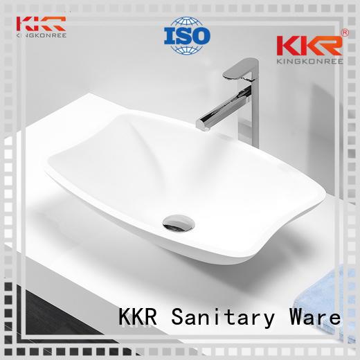 kkr countertop above counter basins ware KingKonree company