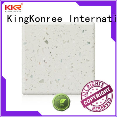 KingKonree pure solid surface wholesale for hotel