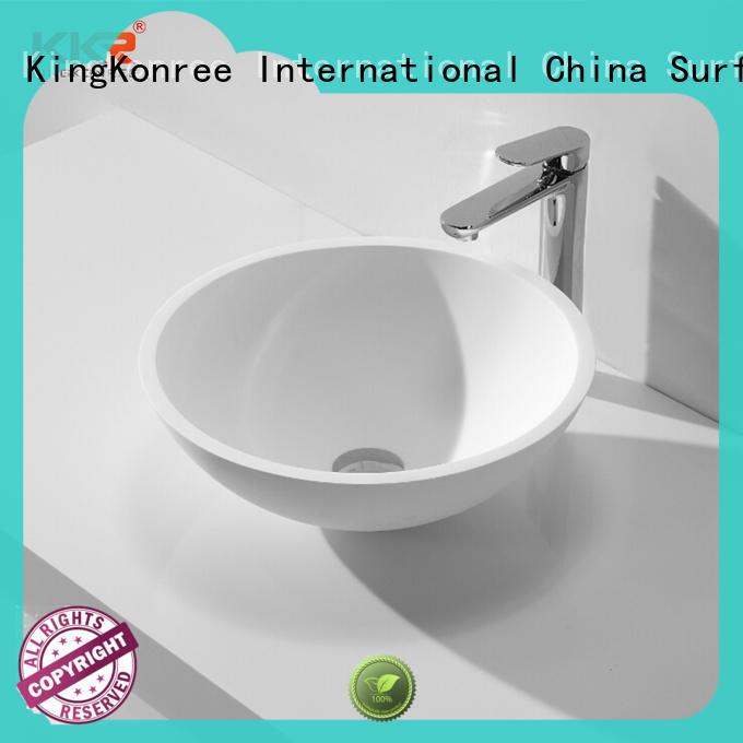 KingKonree above counter vessel supplier for room