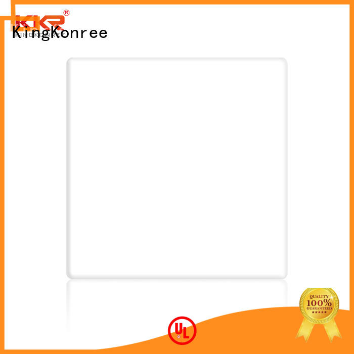 KingKonree quality acrylic bathroom countertops artificial stone for restaurant
