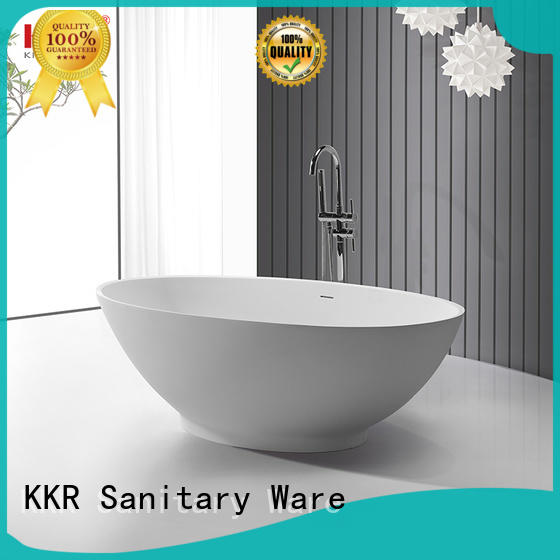 man made stone bathtub marble for shower room KingKonree