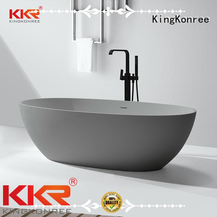 selling b004 bathtub solid surface bathtub freestanding KingKonree Brand