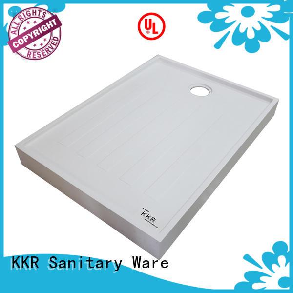 white large shower trays customized for hotel KingKonree