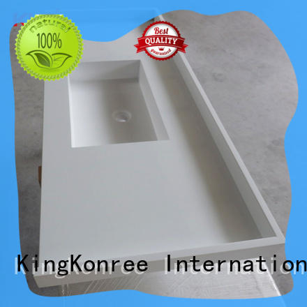 artificial solid stone countertops latest design for bathroom