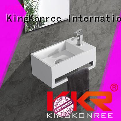 white wall hung bathroom basins supplier for toilet