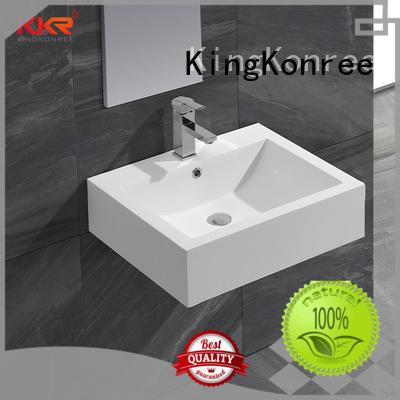 KingKonree unique rectangular wash basin customized for toilet
