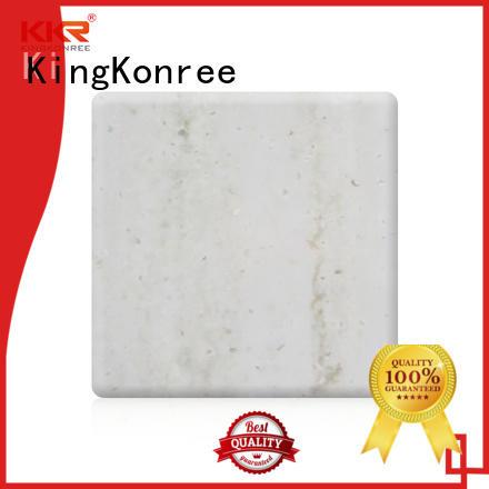 KingKonree popular solid surface countertop sheets for indoors