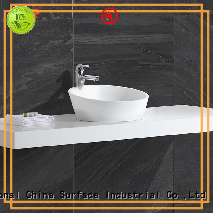 best quality bathroom sinks above counter basins supplier for hotel KingKonree