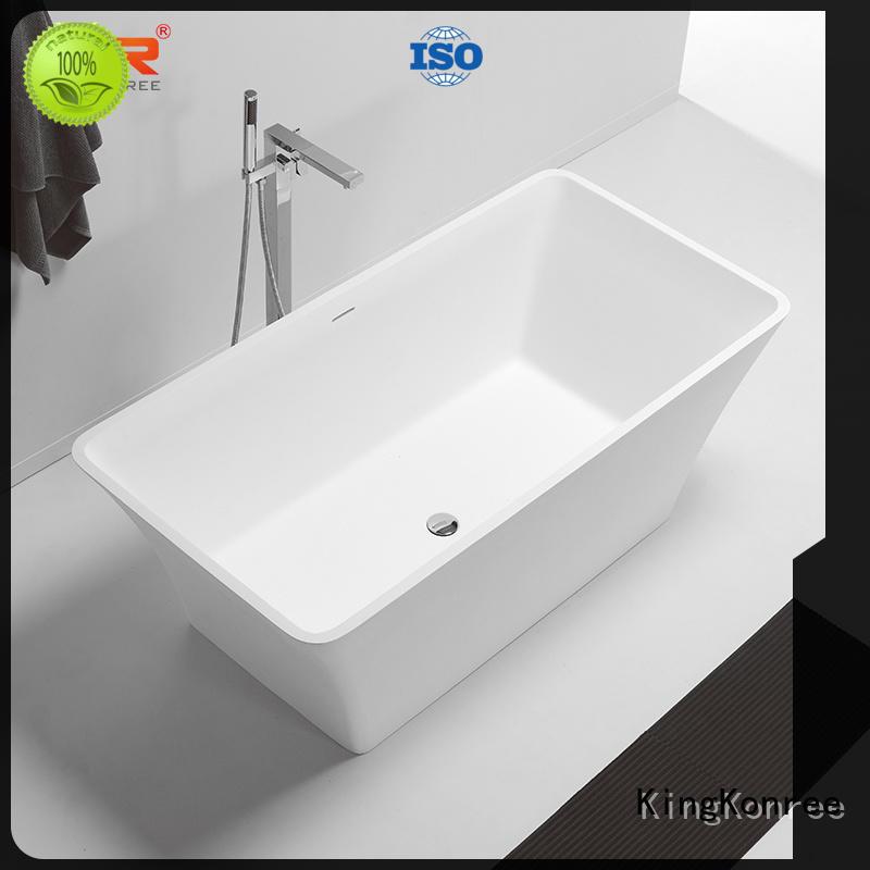 KingKonree large free standing soaking tubs custom for bathroom