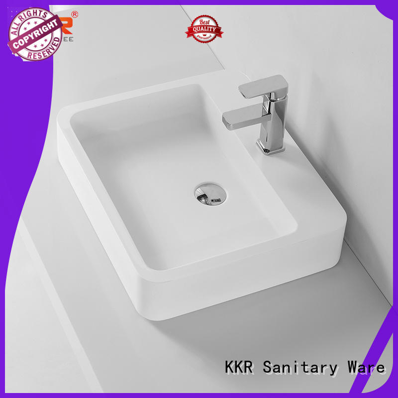 KingKonree above counter vessel sink cheap sample for room