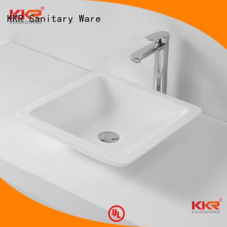 shape countertop oval rectangle above counter basins KingKonree