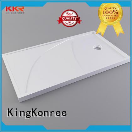 KingKonree acrylic grey shower tray resin for home