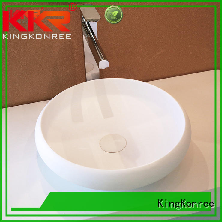 KingKonree marble bathroom countertops and sinks manufacturer for hotel