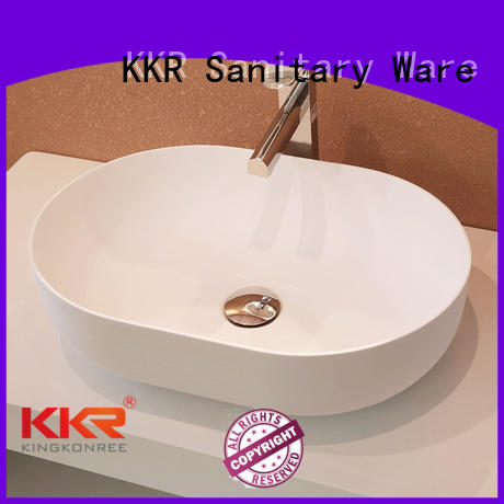 oval above counter basin acyrlic stone square above counter basins manufacture