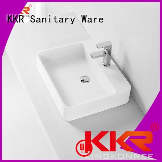 oval above counter basin pure above counter basins KingKonree Brand