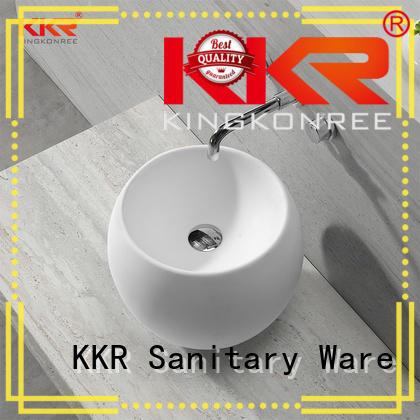above counter vanity basin sanitary ware for restaurant KingKonree