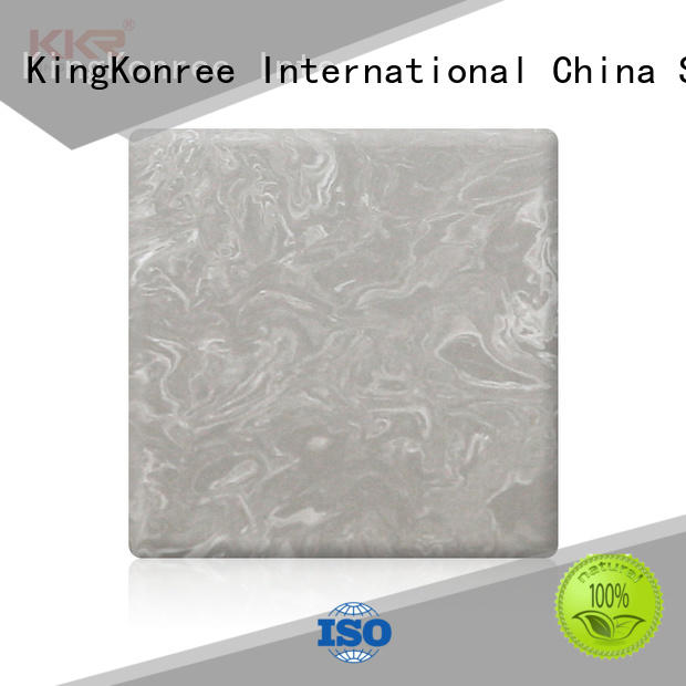KingKonree acrylic solid surface sheet manufacturer for home