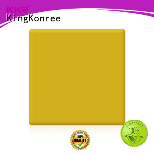 KingKonree solid surface countertops prices customized for hotel